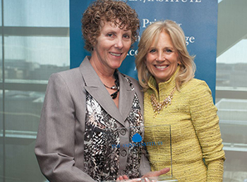 Aspen Prize | Lake Area Technical College. Deb Shephard & Dr Jill Biden