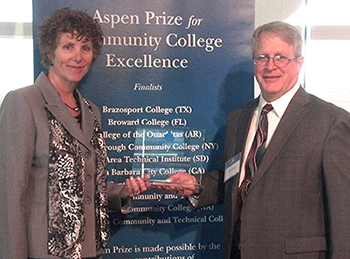 Aspen Prize | Lake Area Technical College. Deb Shephard & Michael Cartney