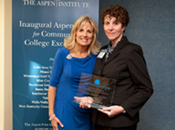 Aspen Prize | Lake Area Technical College. Dr Jill Biden