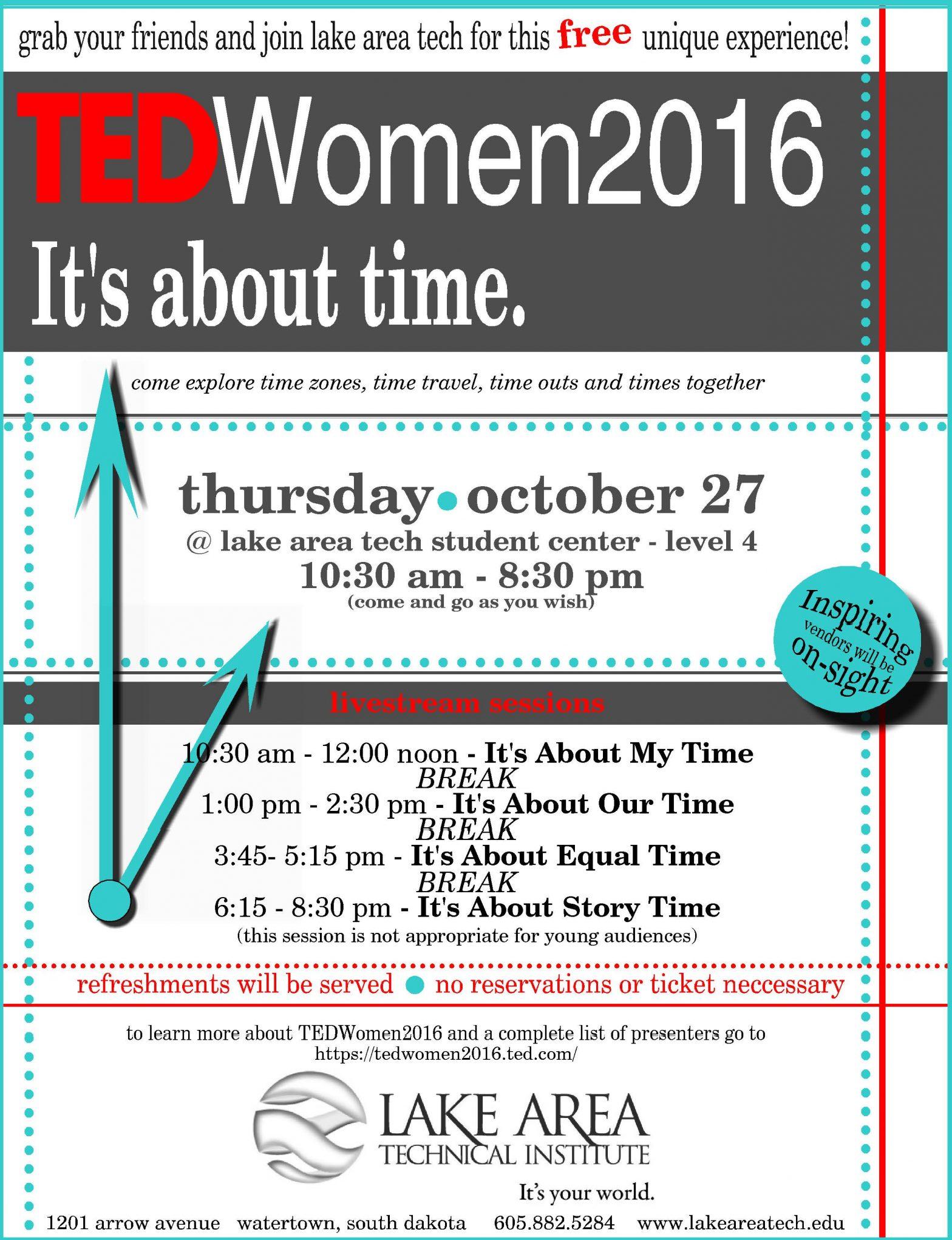 Tedwomen Poster