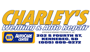 Charleys Welding And Auto Repair Logo
