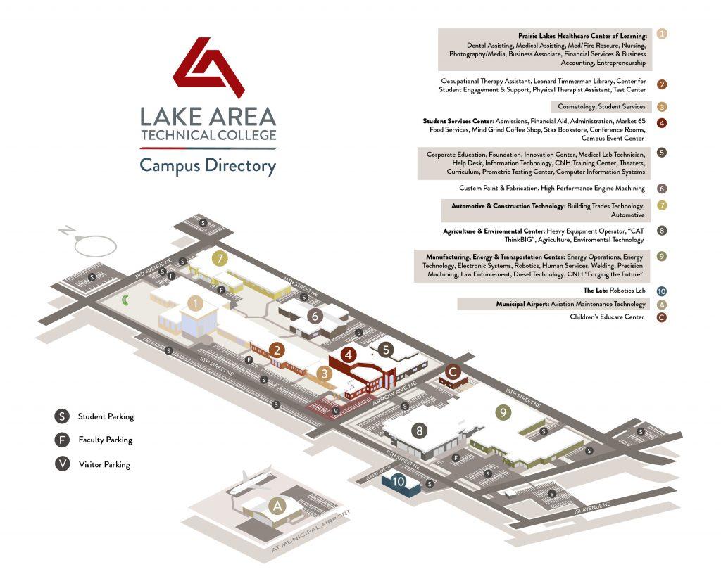 Campus Map 3d 2021