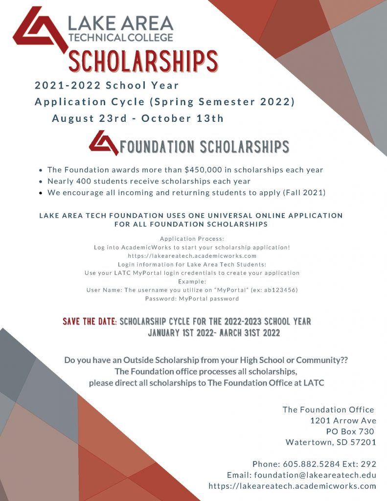 Fall 2021 Scholarships